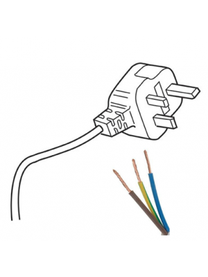 3M Cable & UK Plug
