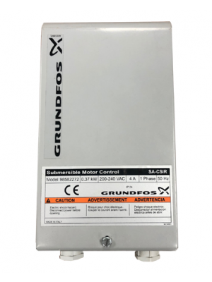 Capacitor / Overload Box for Grundfos Borehole Pumps