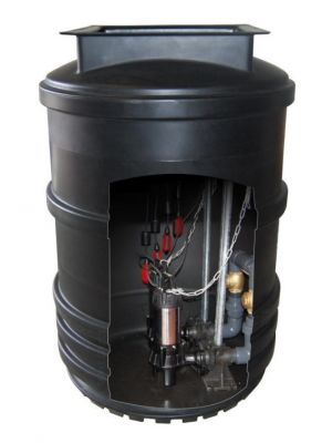 Mini Twin Pump Wastewater Lift Station