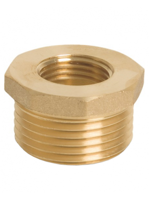 Brass Hexagon Reducing Bush