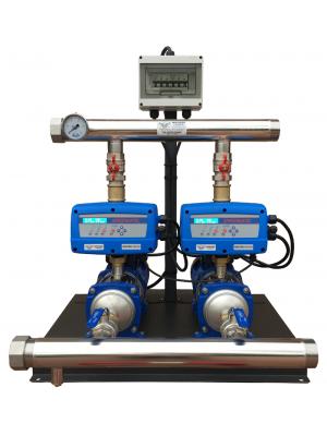 Whisper Pumps Hydroset Twin Pump Booster Set