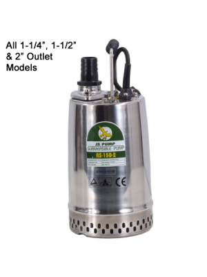JS RS & RST Submersible Pumps