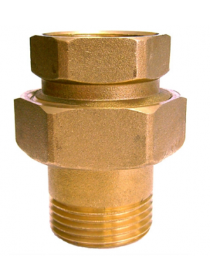 Brass 3 Part Union Male X Female BSP Thread