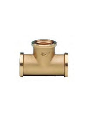 Equal Tees - Brass BSP thread