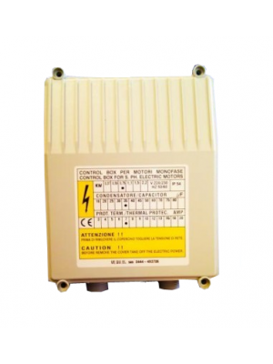 Capacitor / Overload Box for Franklin Borehole Motors