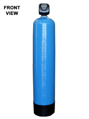 Backwash Filter For Sediment (Turbidity) Removal - Front View,Backwash Filter For Sediment (Turbidity) Removal - Side View