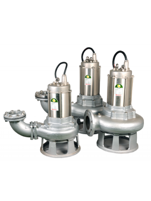 JS SKSS Stainless Steel Submersible Chopper Pumps
