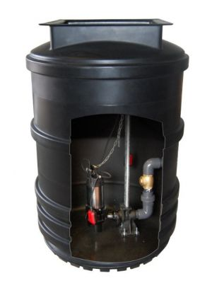 Mini Single Pump Lift Station