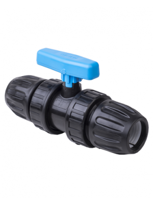 Plastic Double Ball Valve Union