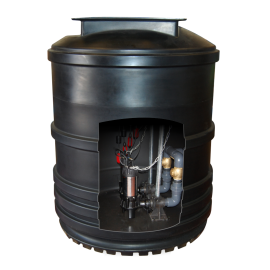 Maxi Twin Pump Wastewater Lift Station