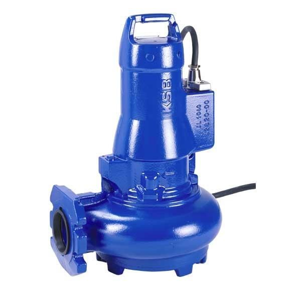 KSB Amarex N Submersible Pumps With Cutter Impeller