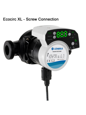 Lowara Ecocirc XLplus Circulator Pump with Screw Connection
