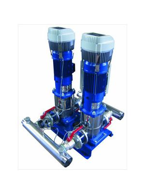 Lowara GHV20 Hydrovar Multi Pump Booster Sets