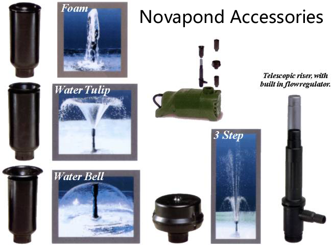 Novapond Fountain Accessories