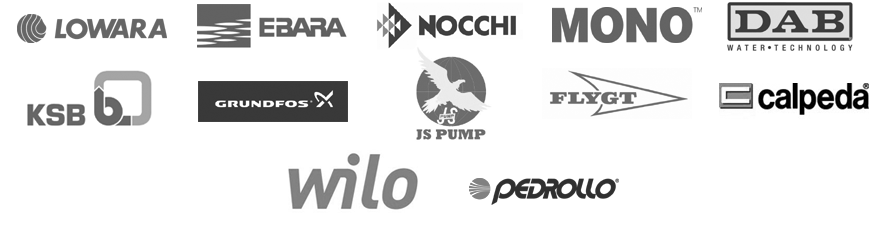 Pump Brands we Repair